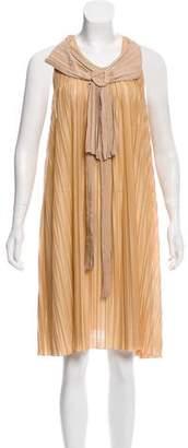 Chloé Sleeveless Plisse Dress w/ Tags