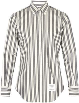 Thom Browne Striped cotton shirt