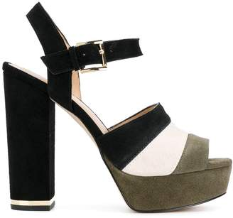 MICHAEL Michael Kors colour block platform sandals