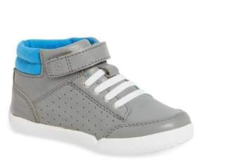 Stride Rite Stone High Top Sneaker (Toddler)