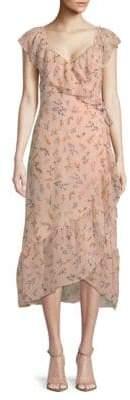 Rebecca Minkoff Jessica Floral Wrap Dress