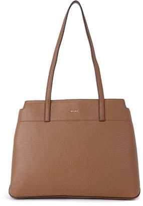 DKNY Borsa A Spalla Bellah Camel Leather Shoulder Bag