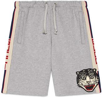 Gucci stripe cotton shorts