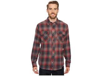 Woolrich Miners Wash Flannel Shirt Men's Clothing