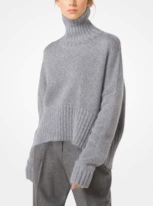 Michael Kors Metallic Mohair Pullover