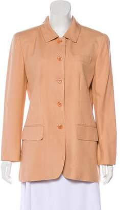 Magaschoni Structured Button-Up Blazer