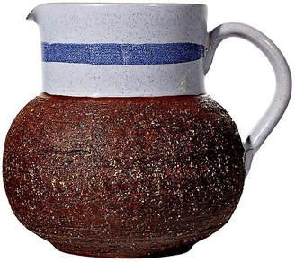 One Kings Lane Vintage 1960s Swedish Textured Ceramic Pitcher