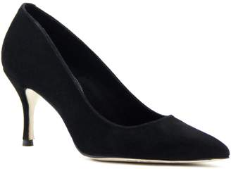 Ally Shoes - Black Suede Pump