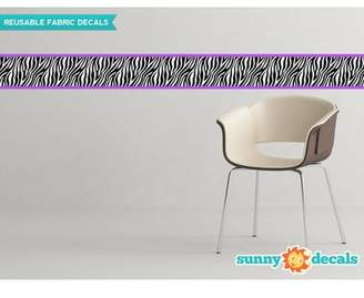 Sunny Decals Zebra Border Wall Decal (Set of 2)