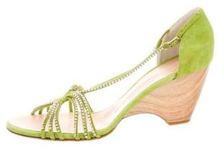 Giuseppe Zanotti Embellished Wedge Sandals