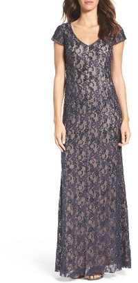 Women's Adrianna Papell Beaded Gown $369 thestylecure.com