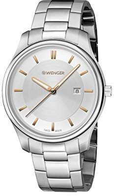 Wenger Men's 'City Classic' Swiss Quartz Two-Tone and Stainless Steel Casual Watch