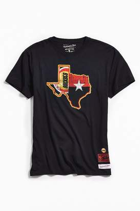 Mitchell & Ness Houston Rockets Texas Tee
