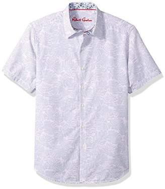 Robert Graham Men's EL Carmelo Short Sleeve Shirt