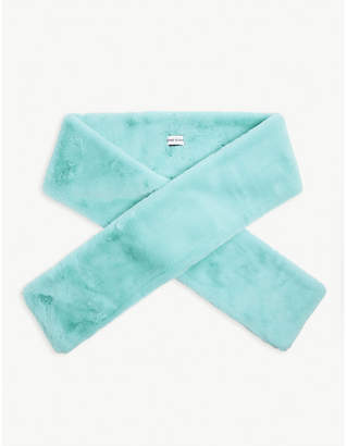 STAND Lily faux-fur scarf
