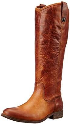 Frye Women's Melissa Button-WAPU Riding Boot