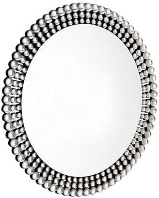 Asstd National Brand Elegant Border Round Wall Mirror