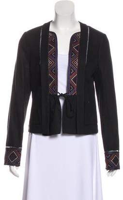 Intermix Embroidered Long Sleeve Jacket