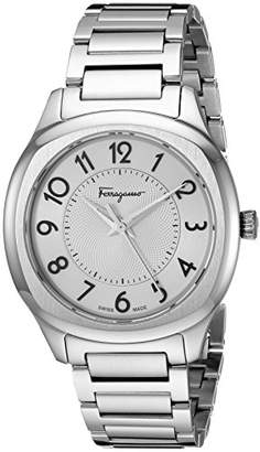 Salvatore Ferragamo Women's TIME' Swiss Quartz Stainless Steel Casual Watch