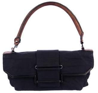 Lanvin Corduroy Flap Bag