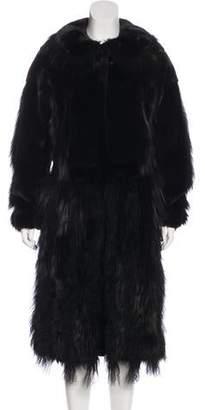 Oscar de la Renta 2015 Mixed Fur Coat w/ Tags