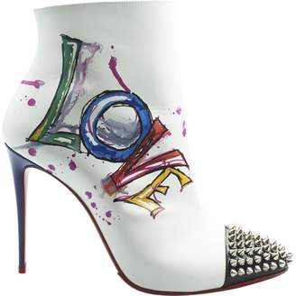 Christian Louboutin Multicolour Leather Heels