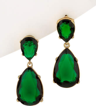 Kenneth Jay Lane Jolie Crystal Drop Earrings