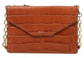 Lauren Ralph Lauren Embossed Leather Crossbody Bag