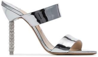 Sophia Webster Rosalind 100 crystal embellished sandals