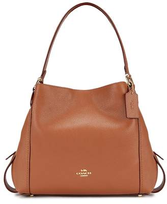 Coach Edie 31 Brown Leather Tote