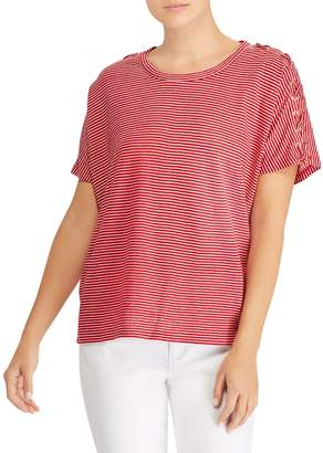 Lauren Ralph Lauren Short-Sleeve Knitted Top