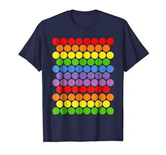 DAY Birger et Mikkelsen September 15th dot multicolor rainbow polka dot t shirt