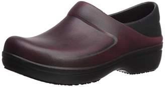 Crocs Women's Neria Pro II Distressed Clog Shoe