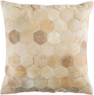 Safavieh Parker Cowhide Pillow