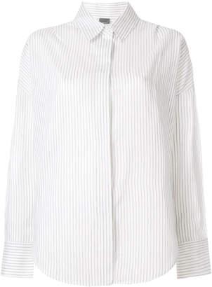 Lorena Antoniazzi pinstripe shirt