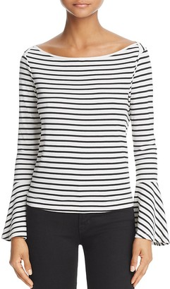 Splendid Striped Bell Sleeve Tee - 100% Exclusive $68 thestylecure.com