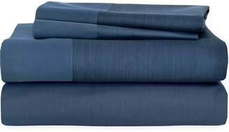 Michael Aram Striated Band 400 Thread Count Flat Sheet
