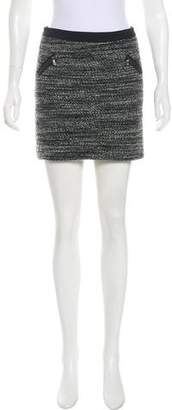 Rebecca Taylor Tweed Mini Skirt