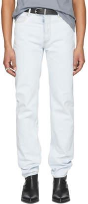 Maison Margiela Blue Bleach Jeans