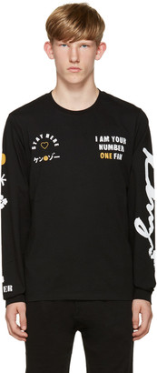 Kenzo Black 'I Am Your #1 Fan' T-Shirt $175 thestylecure.com