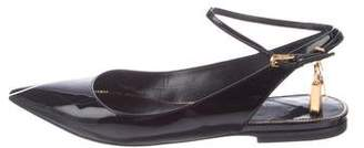 Tom Ford Patent Leather Pointed-Toe Flats