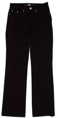 Versace Mid-Rise Straight-Leg Jeans