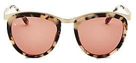 Smoke X Mirrors Women's Comic Strip 51MM Teardrop Sunglasses