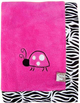 Trend Lab TREND LAB, LLC Zahara Zebra Receiving Blanket