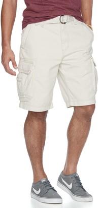 UNIONBAY Men's Survivor Belted Cargo Shorts