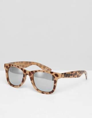 Vans Janelle Hipster Leopard Print Sunglasses