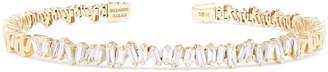 Suzanne Kalan Baguette Diamond Firework Bangle Bracelet
