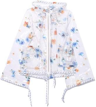 Ganni Petunia jacket in Transparent