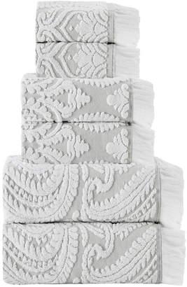 Enchante Home Laina 6-Pc. Turkish Cotton Towel Set Bedding