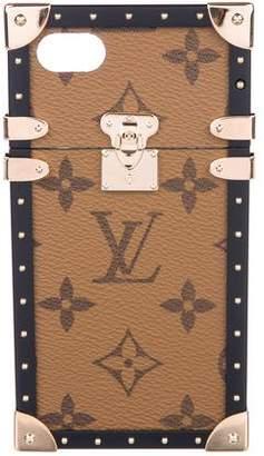 Louis Vuitton 2017 Monogram Reverse Eye-Trunk iPhone 7 Case
